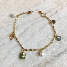gold lucky bracelet images Gold lucky charm bracelet lockett jewels jpg