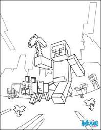minecraft sword on head coloring page h u0026 m coloring pages