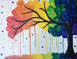 swirly rainbow tree fri nov 10 3pm at pinot s palette montclair
