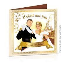 faire part mariage avec photo faire part de mariage original princesse et conte de fées