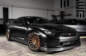 black nissan matte black nissan gt r on vossens by exclusive motoring u2014 carid