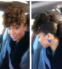 natural hair bun styles with bang how i maintain bomb natural hair on a lazy regimen portia bglh