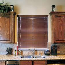 Hurst Blinds 50mm Solid Wood Blinds With Ladder String Wand Tilt Wood Slat