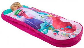 Kids Air Bed Trolls Junior Readybed Kids Airbed And Sleeping Bag In One Ebay