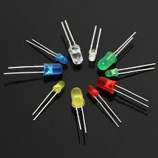 electronic components led lights 375pcs 3mm 5mm led light emitting diode beads resistance lights kits