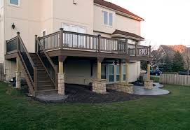 Decorative Concrete Pillars Concrete Pillars For Decks Best Foundation For A Deck Is A Set Of