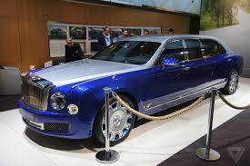 rolls royce limo price the bentley mulsanne grand limousine is opulence on an astonishing