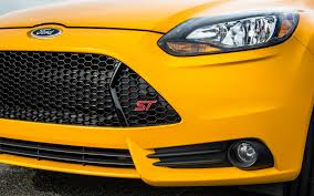 Focus Grill 2013 Ford Focus St First Test Motor Trend
