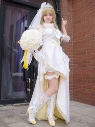 wedding dress version lovelive minami kotori costume wedding dress version
