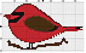 Cardinal Bird Home Decor by 2 Easy Bird Needlepoint Designs To Spruce Up Your Home