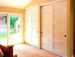Six Panel Closet Doors 6 Panel Sliding Closet Doors Step 3 Six Panel Oak Sliding Closet