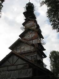 House With Tower Whimsical Dr Seuss House In Alaska Unusual Places