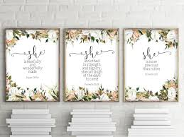 quotes from the sales bible calligraphy bible verses art home decor and by twobrushesdesigns