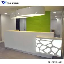 Led Reception Desk China Led Small Reception Table Reception Desk For Office Desk