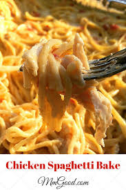 Dinner Casserole Ideas Best 25 Baked Chicken Spaghetti Ideas On Pinterest Dinner