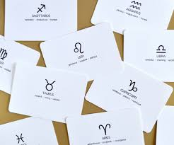 astrology notecards u2014 vialin design studio