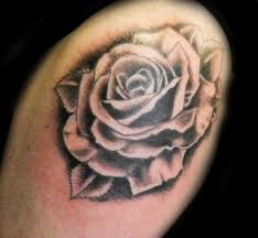 black and grey rose tattoo designs rose tattoos black and grey