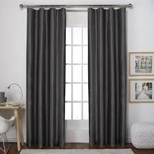 Drapery Rings Without Clips How To Attach Round Rings On A Curtain Overstock Com