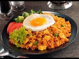 cara membuat nasi goreng untuk satu porsi cara membuat nasi goreng spesial pedas mantap nikmat gurih youtube