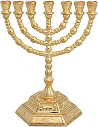 7 candle menorah candle sticks menorah 7 branches 12 tribes