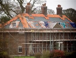 renovations in progress at anmer hall sandringham norfolk