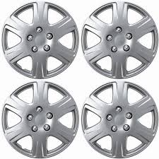 toyota corolla 2006 hubcap 4 set silver abs fits 2005 2006 2007 toyota corolla 15