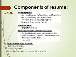 How To Include Computer Skills In Resume Skills To Include In A Resume Resume Ideas