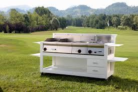 cuisine professionnelle mobile cuisine professionnel modulable pour extérieur cube 1600 five
