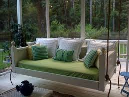 Patio Swing Springs Marvelous Porch Swing Designs For Spring Enjoyment