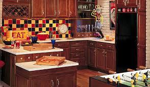 Merillat Classic Spring Valley In Cherry Paprika Merillat - Merillat classic kitchen cabinets