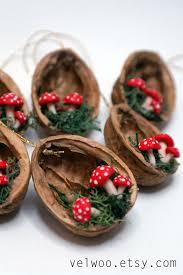 ornaments walnut shell ornament