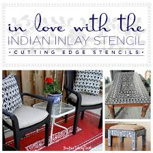 home decor stencils are you in love with the indian inlay stencil stencil stories