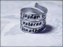 rings with children s names 15 best for me images on rings name rings and