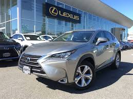 lexus richmond vancouver used 2015 lexus nx 200t for sale north vancouver bc