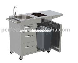 outdoor kitchen carts and islands stainless steel kitchen cart home design and decorating