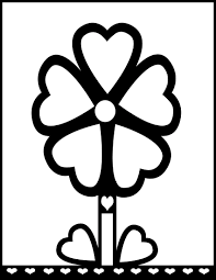 coloring flower cliparts cliparts zone