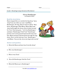 Shopping Worksheets Reading Worksheets First Grade Reading Worksheets