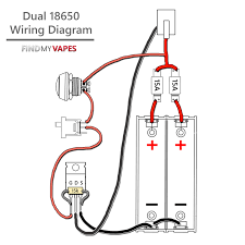 diy unregulated dual 18650 box mod kit