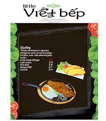 bep cuisine viet bep menu sizzling