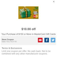gift card manufacturers meijer mperks mastercard gift card promotion get 10 150