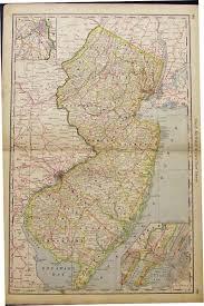 Lakewood Nj Map Prints Old U0026 Rare New Jersey Page