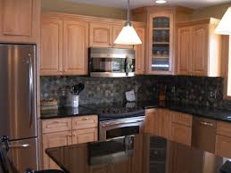 Slate Backsplash In Kitchen Admirable Slate Backsplash For Kitchen Tile Design Ideas Homes