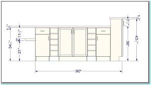 standard kitchen island dimensions standard kitchen island height trendyexaminer