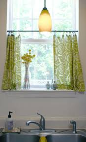 curtains for small kitchen windows home design