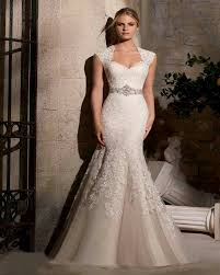 curvy wedding dresses 2016 mermaid wedding dress beaded applique illusion back curvy