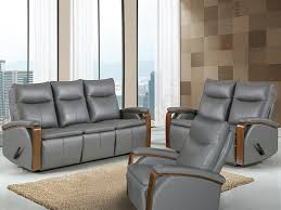 Grey Leather Recliner Global Gray Leather Recliner Chair Bailey U0027s Furniture