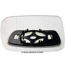 toyota yaris wing mirror glass left passenger side heated wing door mirror glass for toyota yaris