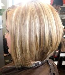 Bob Haircut With Low Stacked Back Shoulder Length | 17 medium length bob haircuts short hair for women and girls