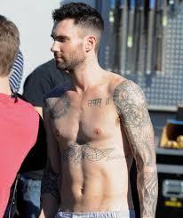 25 adam levine tattoos slodive