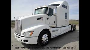 kenworth truck tractor 2010 kenworth t660 studio sleeper with couch from used truck pro